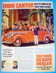1938 De Soto with Actor Eddie Cantor