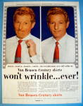 1954 Van Heusen Shirts with Danny Kaye