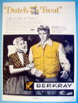 1955 Berkray Jackets with Burt Lancaster