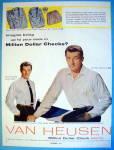 Click to view larger image of 1955 Van Heusen Shirts with Robert Mitchum (Image1)
