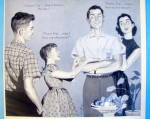 Click to view larger image of 1956 Marlboro Shirts with family talking (Image2)