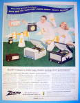 Click to view larger image of 1956 Zenith with Radio & Portables (Image1)