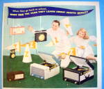 Click to view larger image of 1956 Zenith with Radio & Portables (Image2)