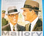 Click to view larger image of 1956 Mallory Hats with Men Wearing Courier & Fleetlite (Image2)