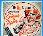 Click to view larger image of 1953 Canada Dry Ginger Ale with Circus Clown (Image2)