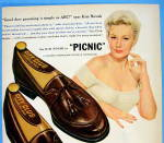 Click to view larger image of 1955 City Club Shoes with Kim Novak (Image2)