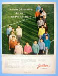 Click to view larger image of 1956 Jantzen Sweaters with Football Pro All Stars (Image1)