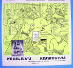 Click to view larger image of 1956 Heublein Vermouth with Ogden Nash (Image2)