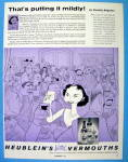 Click to view larger image of 1956 Heublein Vermouth with Dorothy Kilgallen (Image1)