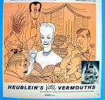 Click to view larger image of 1956 Heublein Vermouth with Faye Emerson (Image2)