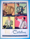 1963 Catalina Sweaters with Four Different Sweaters
