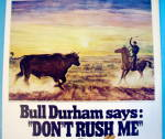Click to view larger image of 1968 Bull Durham Cigarettes with Encounter At Dawn (Image2)
