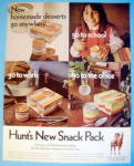 Click to view larger image of 1970 Hunt's Snack Pack with Many Places To Eat (Image1)