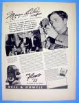 1938 Filmo Camera with Famous Director Mervyn Le Roy