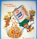Click to view larger image of 1955 Post Sugar Crisp Cereal w/ 3 Bears Pouring Cereal (Image2)
