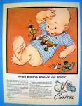 Click to view larger image of 1956 Carter Polo Shirts With Baby & Polo Figures (Image1)