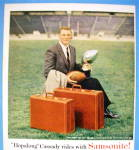 Click to view larger image of 1956 Samsonite Luggage with Football's Hopalong Cassady (Image2)