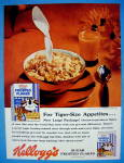1959 Kellogg's Frosted Flakes Cereal w/ Tony The Tiger