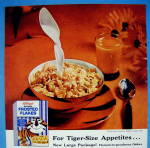 Click to view larger image of 1959 Kellogg's Frosted Flakes Cereal w/ Tony The Tiger (Image2)