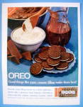 Click to view larger image of 1961 Nabisco Oreo with Oreo Creme Sandwiches On Plate (Image1)