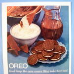 Click to view larger image of 1961 Nabisco Oreo with Oreo Creme Sandwiches On Plate (Image2)
