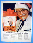 Click to view larger image of 1967 Kentucky Fried Chicken with The Colonel & Bucket (Image1)