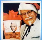 Click to view larger image of 1967 Kentucky Fried Chicken with The Colonel & Bucket (Image2)