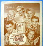 Click to view larger image of 1948 Chesterfield Cigarettes with Cast of Paradine Case (Image2)