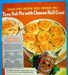Click to view larger image of 1936 Royal Baking Powder w/ Tuna Fish Pie (Image2)