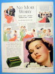1937 Palmolive Soap with No More Worry