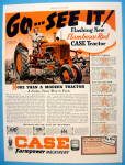 Click to view larger image of 1939 Case Farmpower w/ Red Tractor (Image1)