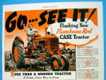 Click to view larger image of 1939 Case Farmpower w/ Red Tractor (Image2)