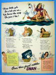 1943 Swan Soap w/ 3 Little Gals