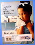 Click to view larger image of 1966 Soft-Weve Toilet Paper with Little Girl (Image2)