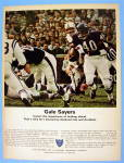 Click to view larger image of 1967 National Life & Accident Insurance w/ Gale Sayers (Image1)