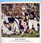 Click to view larger image of 1967 National Life & Accident Insurance w/ Gale Sayers (Image2)