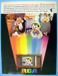 1968 Rca TV with Pinocchio, Dopey & More