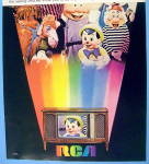 Click to view larger image of 1968 Rca TV with Pinocchio, Dopey & More (Image2)