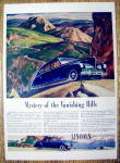 Click to view larger image of Vintage Ad: 1941 Lincoln Zephyr V-12 (Image1)