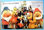 Click to view larger image of 1969 United Airlines with Disneyland & Magic Kingdom (Image1)