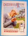 Click to view larger image of 1958 Chesterfield Cigarettes with Golf's Pro Dick Mayer (Image2)
