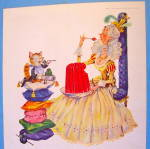 Click to view larger image of 1956 Jell-O with Pussycat, Pussycat (Image2)