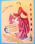 Click to view larger image of 1945 Cutex Nail Polish with Lovely Woman (Image2)