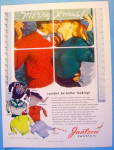 Click to view larger image of 1948 Jantzen Sweaters with Man & Woman Kissing (Image1)