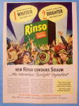 1947 Rinso Soap With Group Of Women