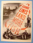 1946 Ashaway Line And Twine With Man And Fish