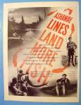 Click to view larger image of 1946 Ashaway Line And Twine With Man And Fish (Image2)