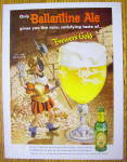 1958 Ballantine Ale with Soldier