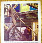 Click to view larger image of 1963 USF & G Company with Man Walking Downstairs (Image3)