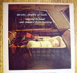 Click to view larger image of 1964 Dreft Detergent with Baby Sleeping In Car (Image2)